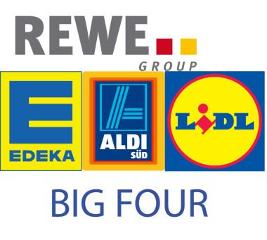 The Big Four – Die Macht von Aldi, Edeka & Co.