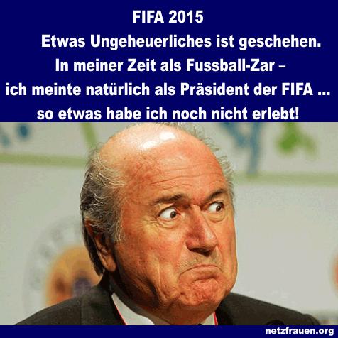 FIFA 2015 – Liebe Fussballfreunde, liebe Landsleute, liebe Menschen vor den Fernsehern