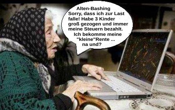 Alten-Bashing – Sorry, dass wir noch leben …