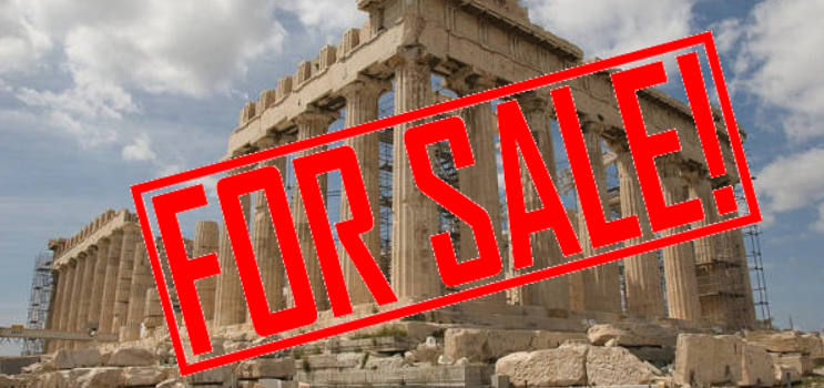 Griechenland muss nun die Akropolis verkaufen? Greece Might Have To Sell Ancient Ruins, Islands Under Bailout Deal
