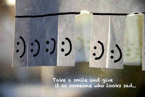 Ein Lächeln geht um die Welt