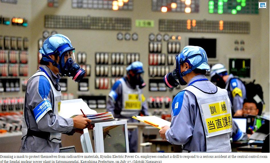 Aus Fukushima nichts gelernt – Neustart der Atomenergie in Japan – Kyushu Electric eyes Tuesday restart for Sendai reactor