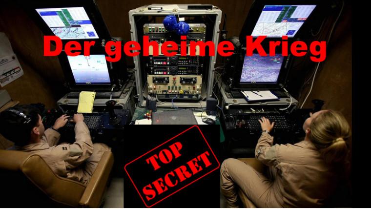 "Top Secret ""Der geheime Krieg"" - Morden aus der Ferne per Joystick"