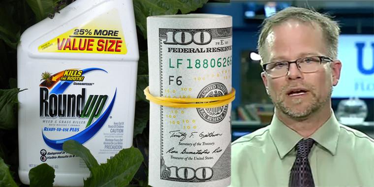 """Was kostet ein """"unabhängiger"""" Experte? Monsanto zahlte $25,000 – Kevin Folta received $25,000 from Monsanto"""