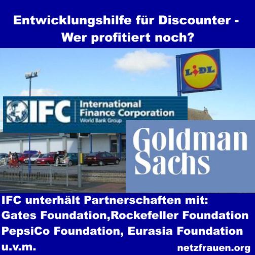Lidl, Goldman Sachs – Entwicklungshilfe auf Kosten der Armen – und Abzocke zu Weihnachten
