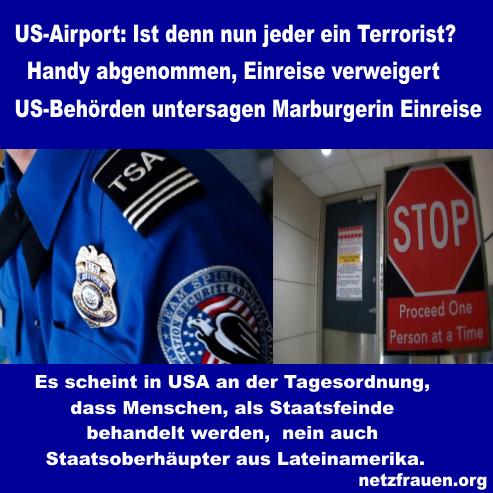 USA-Airport: Ist denn nun jeder ein Terrorist?