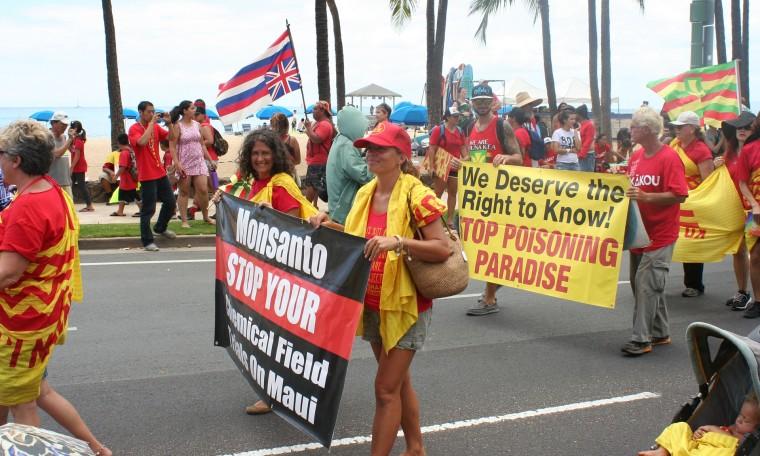 march against pesticides