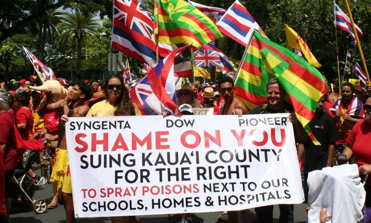 Pestizide im Paradies: Höchststand bei Geburtsfehlern nimmt GMOs ins Visier – Pesticides in paradise: Hawaii's spike in birth defects puts focus on GM crops