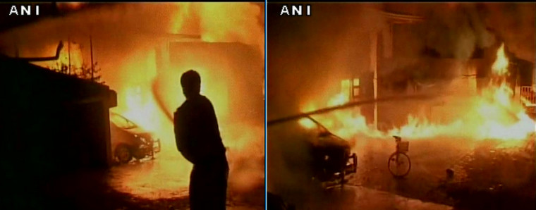 Feuerwerksfabrik –  Großbrand in Ujjain in Indien ausgebrochen – Massive fire at a chemical factory in Ujjain, India