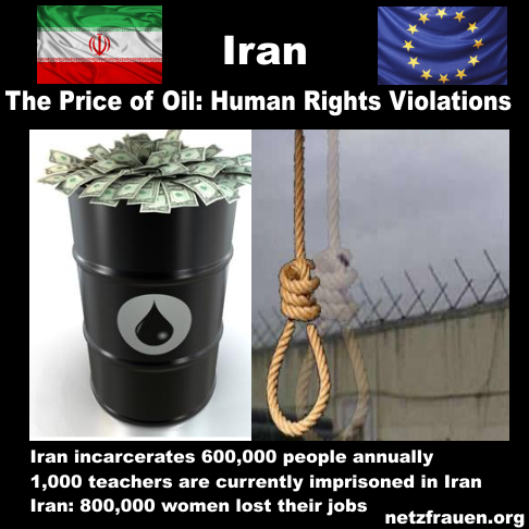 Iran – Energiehunger vor Menschenrechte – Darum schweigt Frau Merkel!