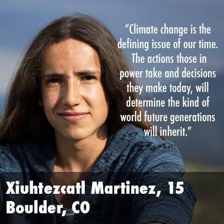 SOLCHE KINDER BRAUCHT DIE WELT – Xiuhtezcatl Martinez in seinem Kampf gegen den Klimawandel