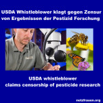 Bienensterben: USDA Whistleblower zum Schweigen gebracht – whistleblower claims censorship of pesticide research