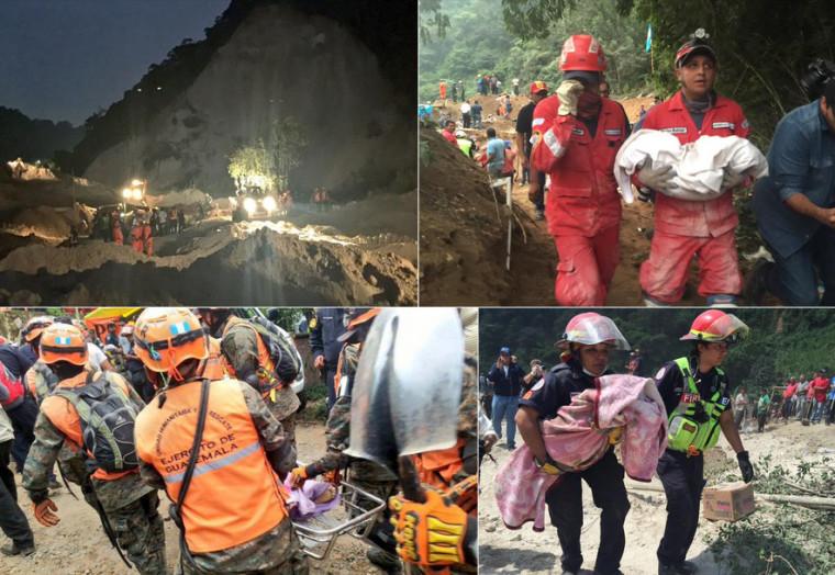 Raubbau wegen Rohstoffen – Erdrutsch Guatemala – 32 Tote und 600 Vermisste
