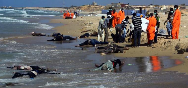 Nordafrika versinkt im Krieg – Leichen säumen Libyens Küste