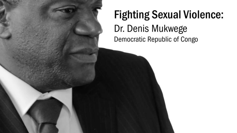 Endlich! Congratulations Dr. Denis Mukwege - kongolesischer Gynäkologe - An African Hero