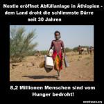 Nestlé eröffnet Abfüllanlage in Äthiopien – dem Land droht die schlimmste Dürre seit 30 Jahren