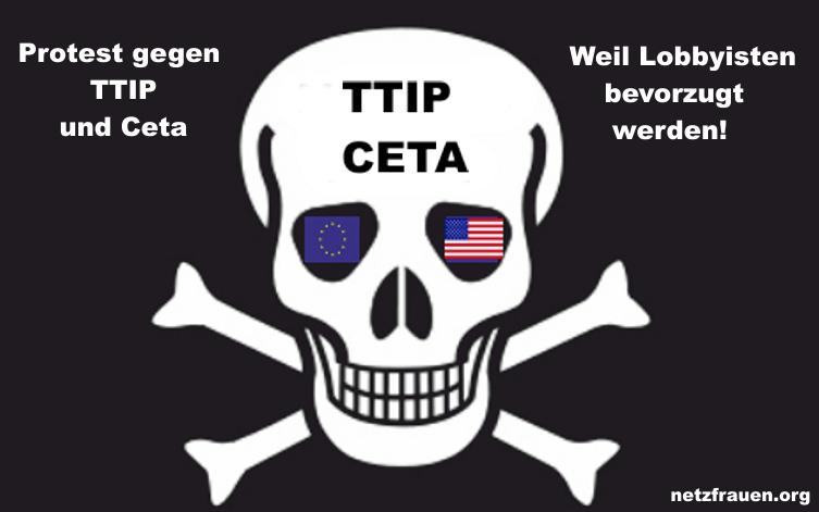 250 000 protestieren gegen TTIP und Ceta in Berlin !