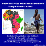 Rücksichtsloses Freihandelsabkommen – Europa erpresst Afrika