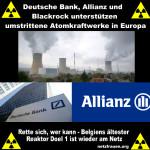 Jodtabletten? Belgiens ältester Reaktor Doel 1 nach Panne wieder am Netz – Deutsche Bank, Allianz und Blackrock unterstützen umstrittene Atomkraftwerke