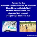 Kennen Sie Mühlenhersteller Bühler aus der Schweiz? Diese Firma ernährt die Welt!
