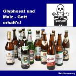 Biertrinker aufgepasst – Glyphosat schädigt Spermien – alle getesteten Biersorten enthalten Glyphosat – noch Fragen?