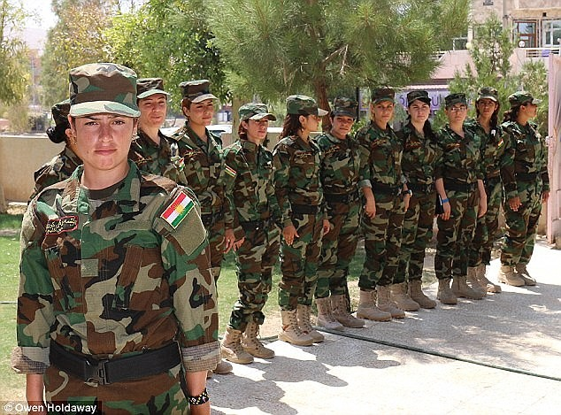 Former ISIS Sex Slaves Form All-Female Battalion 'Sun Ladies' to Launch Massive Assault on ISIS