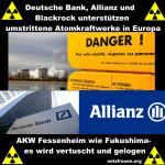 AKW Fessenheim wie Fukushima – es wird vertuscht und gelogen – Deutsche Bank, Allianz und Blackrock unterstützen umstrittene Atomkraftwerke in Europa