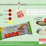 Der Farbschummel! Nach McDonalds und Coca Cola folgt Ferrero – aus ROT wird GRÜN – aber lange noch nicht gesünder!