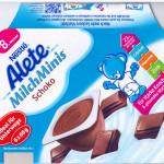 """Schlappe für Nestlé – Gericht untersagt Gesundheitswerbung für Kinderpudding """"Alete Milch Minis""""."""