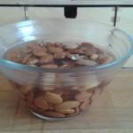 Mandelmilch / Haselnussmilch selbst gemacht – unter Verwertung aller Bestandteile