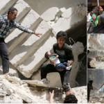 #NotATarget! Syrien: Wann hört dieses Gemetzel endlich auf – Luftangriff zerstörte Krankenhaus – Aleppo Syria Hospital Bombed 27 Dead