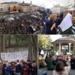 """Spanien: Zehntausende Spanier feiern – seit fünf Jahren """"empört"""" – Hungern, während Banker sich ihre Schandtaten mit Millionen versüßen"""