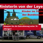 """Eine elf Millionen Euro Kampagne um für  """"Kindersoldaten"""" beim """"Bund"""" zu werben – Die Bundeswehr hat 25 Prozent mehr Minderjährige eingestellt"""