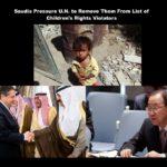 """Empörend: Saudi Arabien übte Druck auf UN aus und verschwand von """"Liste der Schande """"!"""