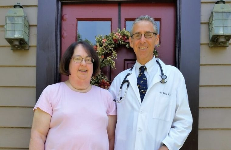 Joyce Barrier and Dr. Ron Weiss