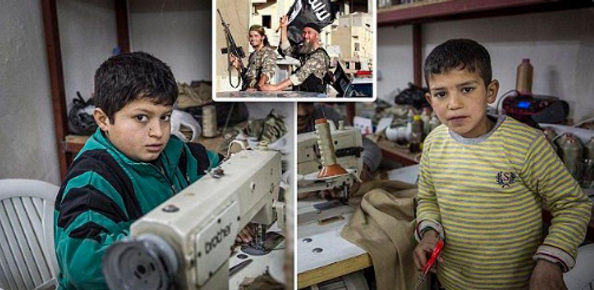 Billig und illegal - In türkischen Ausbeuterbetrieben nähen syrische ...