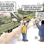Das Geschäft mit Waffen aus Deutschland boomt – Handel mit Henkern – Große Lieferungen nach Katar und Saudi-Arabien