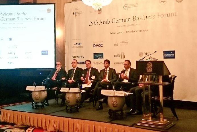 Paneldiskussion mit Botschafter Alawaad – Bildquelle Twitter @KSAembassyDE