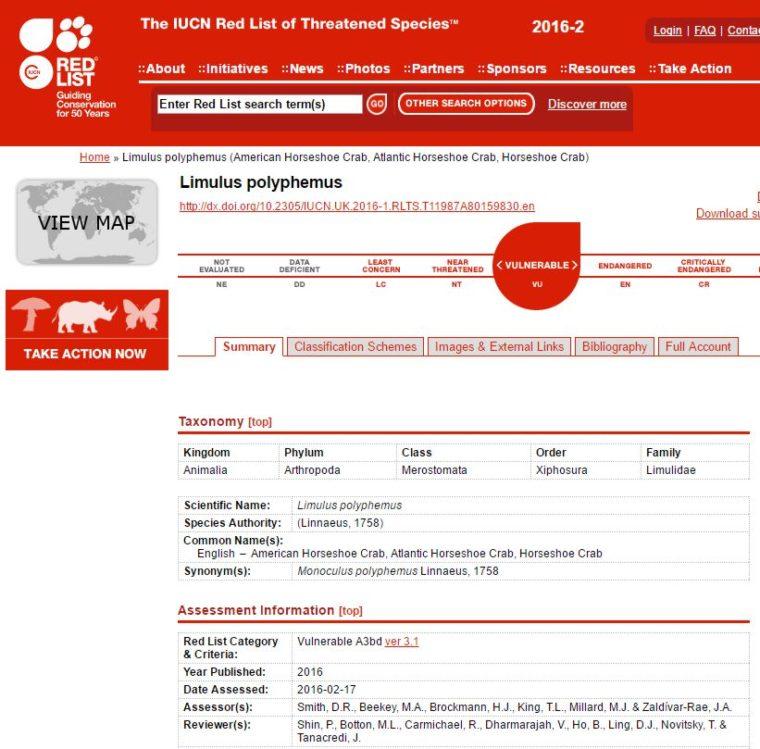 http://www.iucnredlist.org/details/11987/0