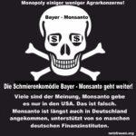 Monopoly einiger weniger Agrarkonzerne!