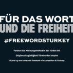 #FreeWordsTurkey – Frau Merkel, Herr Juncker: Fordern Sie Meinungsfreiheit in der Türkei! Schluss mit der Beschwichtigungspolitik!