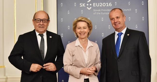 Treffen der EU-Verteidigungsminister im slowakischen Bratislava Foto: EU2016 SK