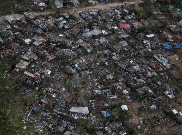 My heart is heavy for Haiti