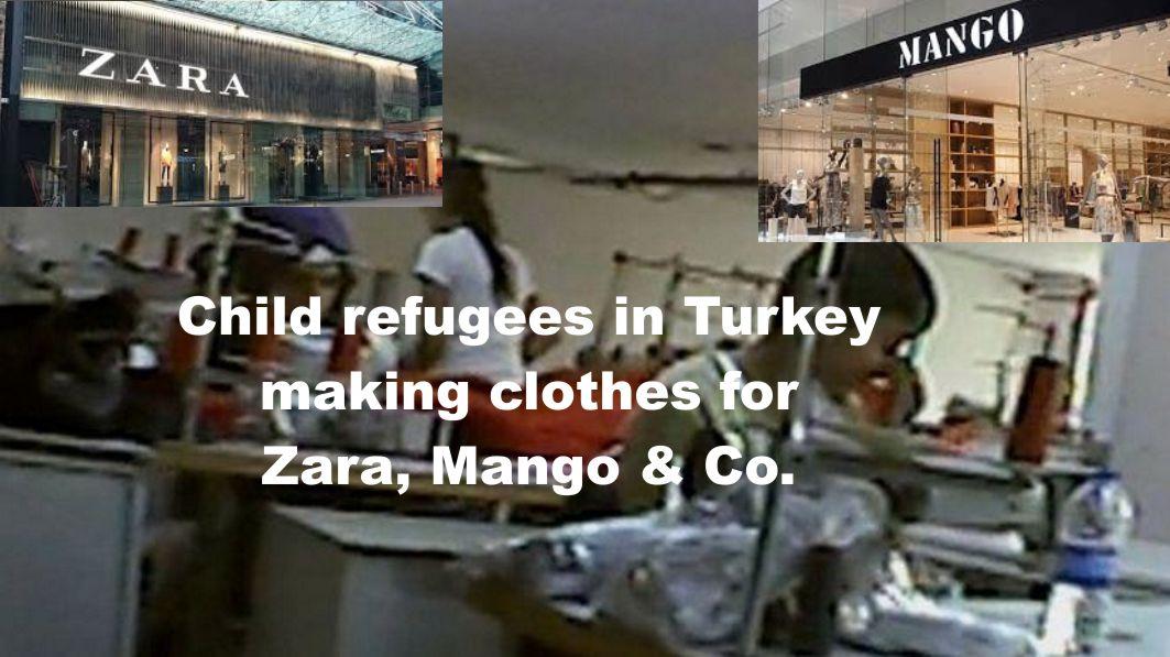 BBC deckt auf: Zara und Mango beschäftigen syrische Flüchtlinge ...