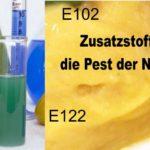 Zusatzstoffe, die Pest der Neuzeit!