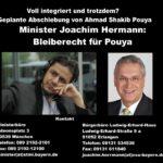 EILT! Voll integriert und trotzdem Abschiebung? Minister Joachim Hermann: Bleiberecht für  Musiker Ahmad Shakib Pouya!