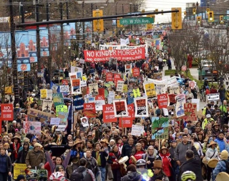 Twitter - Protest gegen Pipline