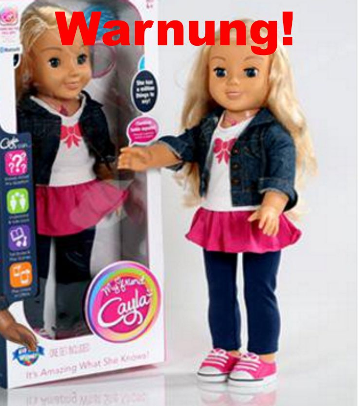 Nicht Nur Hello Barbie Jetzt Auch Puppe Cayla Spioninnen Im