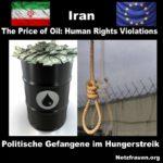 Besorgniserregende Nachrichten aus dem Iran: Wo Hinrichtungen an der Tagesordnung sind - Politische Gefangene im Hungerstreik