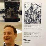 """Tom Hanks sorgt für eine ausreichende Koffeinversorgung der """"schwer gebeutelten """" Presseleute im Weißen Haus"""